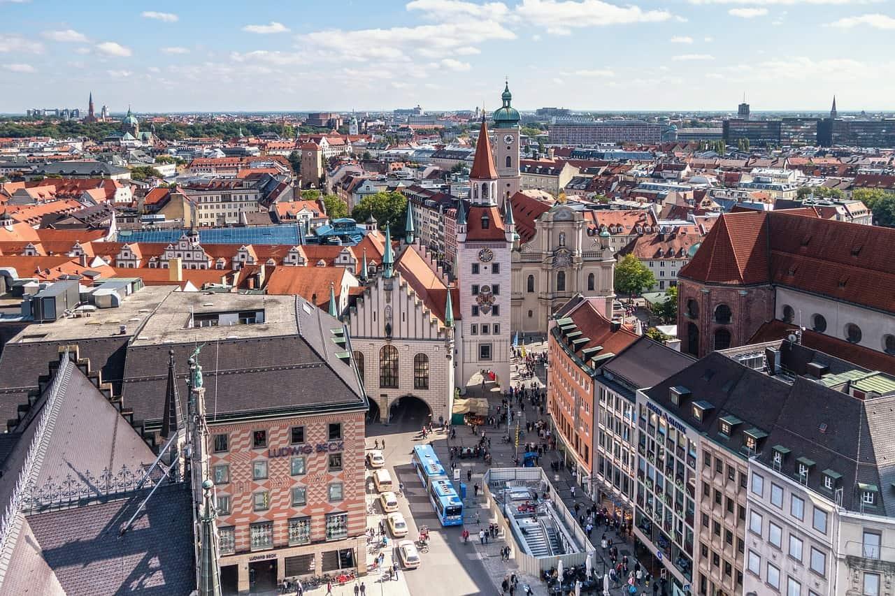 duitsland munchen pixabay - De 13 mooiste plekken in Duitsland: van kastelen tot natuurgebieden!